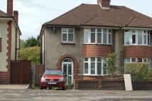 3 bed semi detached property in Eagle Road, Brislington...