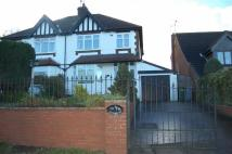 3 bedroom semi detached home to rent in Rufford Road, Edwinstowe