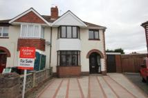 3 bed semi detached home in Gerald Road, Stourbridge...