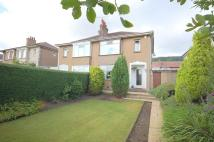 semi detached home for sale in Kirk Crescent...
