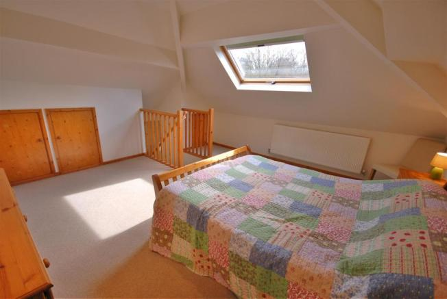 Bedroom one (attic)