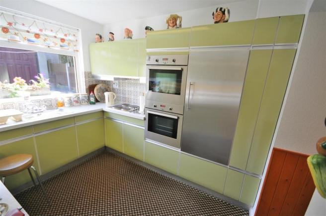Kitchen with utility