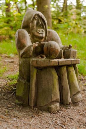 Wooden Carving In