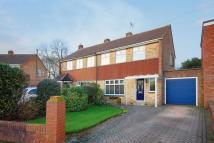 3 bed semi detached house in Bourne Close...