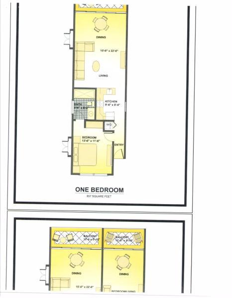 One Bedroom Floor