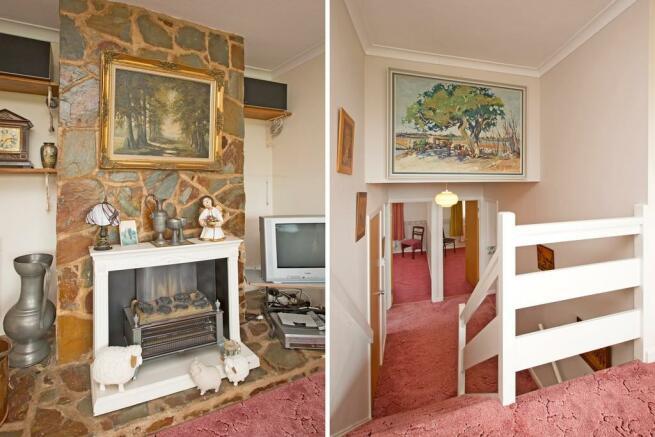 Lounge Fireplace ...