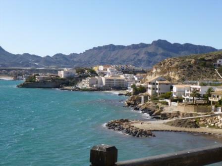 Terreros coastline
