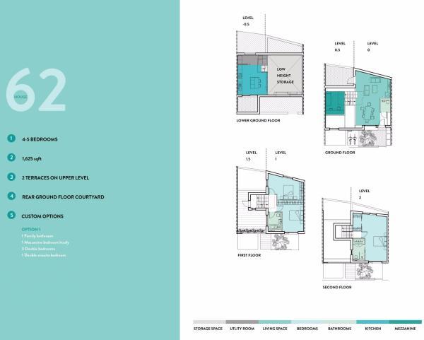 House 62 Floor Plans