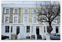 Terraced house to rent in Abingdon Villas, London...