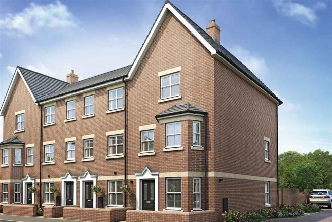 Artists impression of a typical Woodbury home