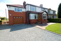 4 bed semi detached property in Audley Road, Barthomley