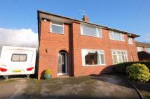 3 bed semi detached house in Clowes Avenue, Alsager