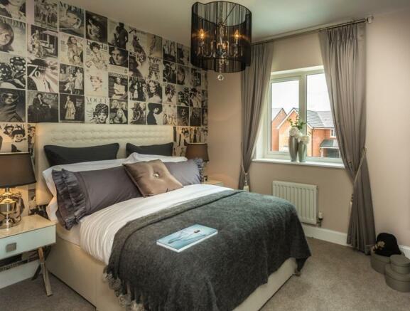 Crompton Double Bed