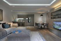 new Flat in Satin House, Piazza Walk...