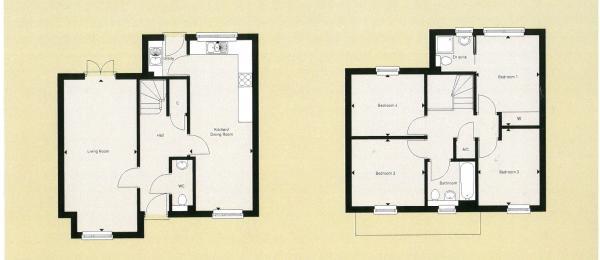 Plot 24 handed to floorplan shown