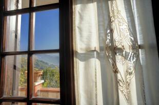 Handsewn curtains