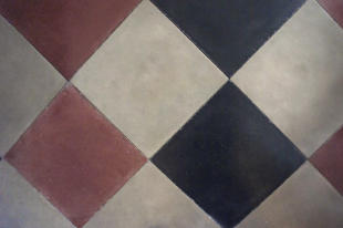 Original tiled floor