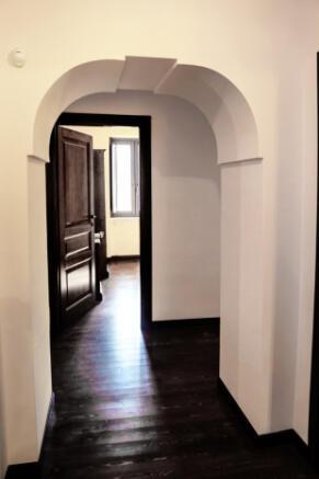 Upper level passage