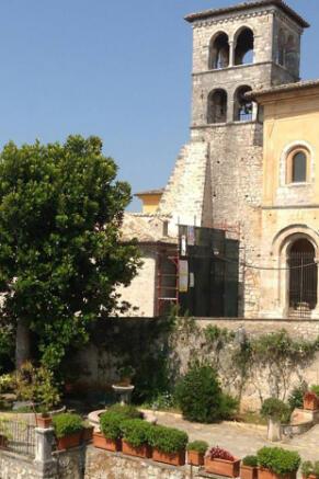 Adjacent basilica