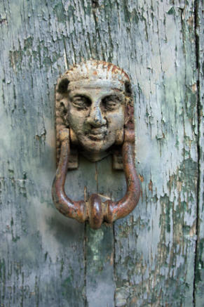 Antique doorknocker