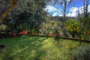 Formal garden entry