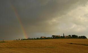 Rainbow over Il Pino