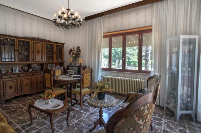 Downstairs Salon