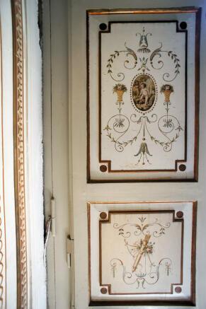 9 Painted Door