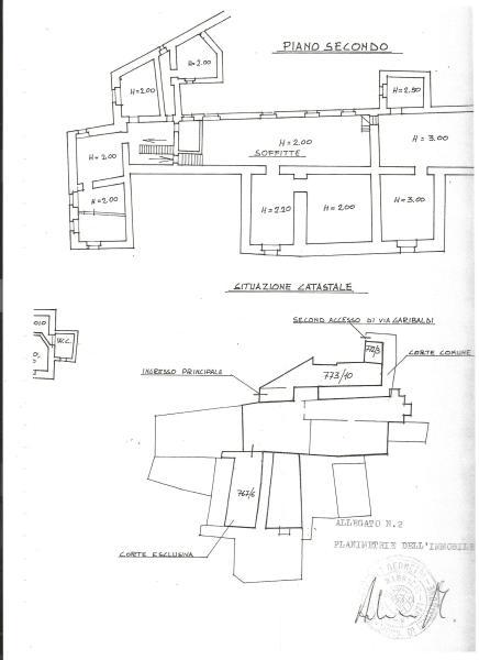 Attic and palazzo