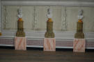 Frescoed busts