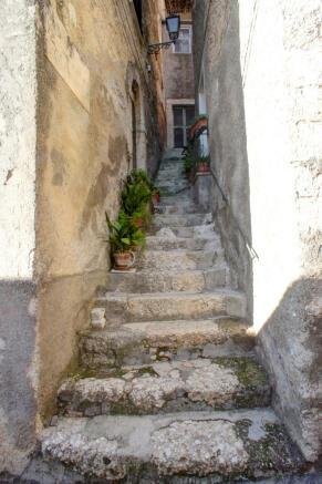 External stairway