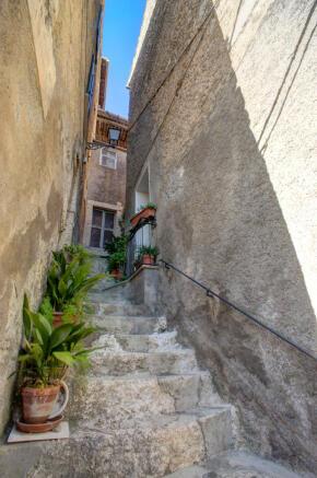 External steps