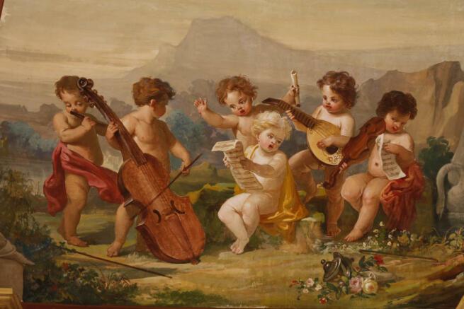 9.Salon frescos