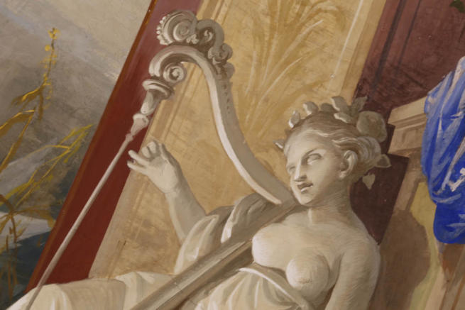 10.Salon frescos