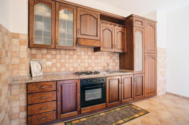 Solid-wood kitchen