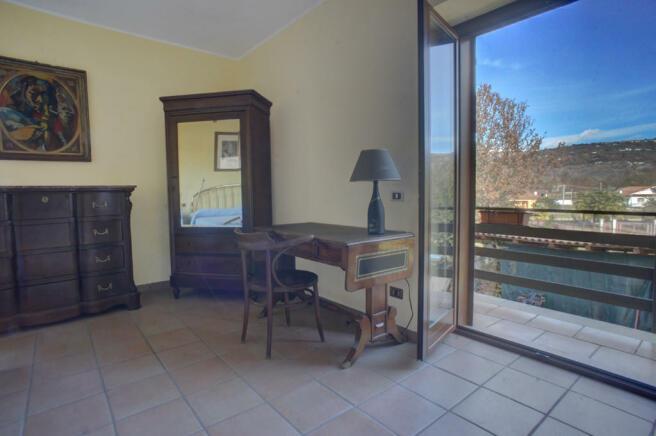 Upper floor balcony