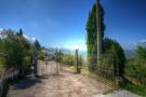 Driveway to villa