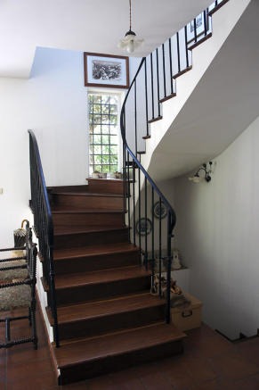 Stairs from hall