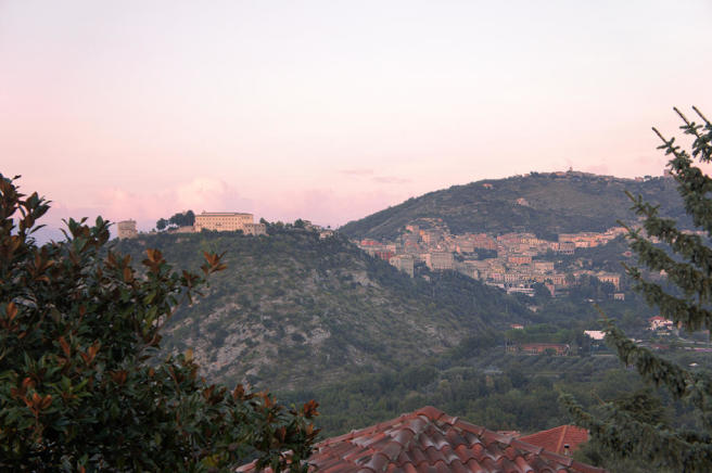 Arpino at sunset