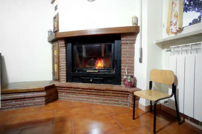 Wood & pellet fire