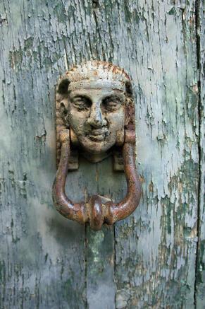 Antique doorknocker