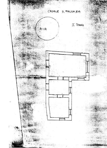 Upper floor + 'aia'