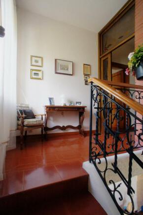 Stairs - upper floor
