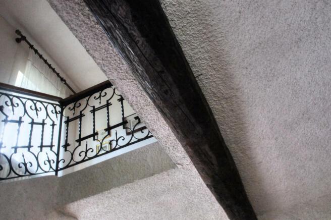 Wrought iron detail