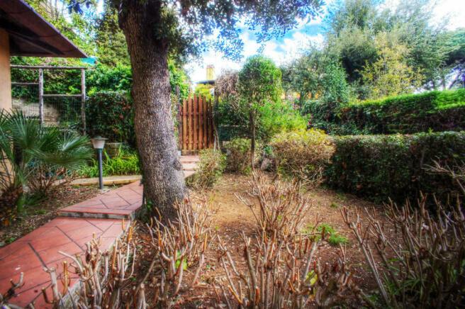 Garden side entrance