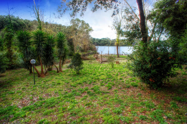 Communal lakeside
