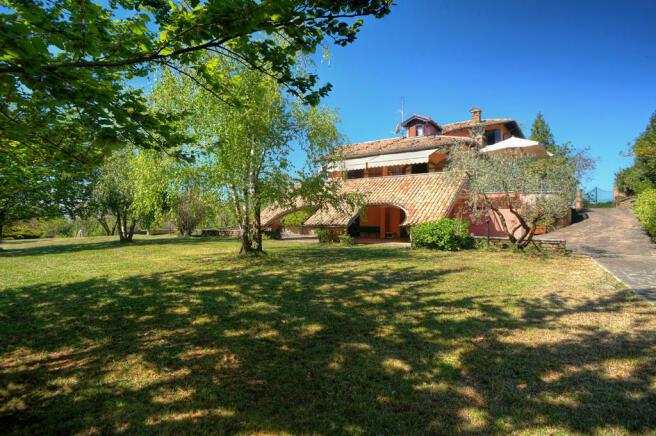 Villa with loggia