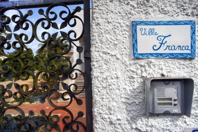 Villa Franca gates