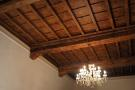 Woodcoffered ceiling