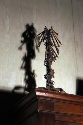 Antique keys feature